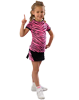 6700AP and 6800AP Pizzazz Animal Print Raglan Cap Sleeve Tee