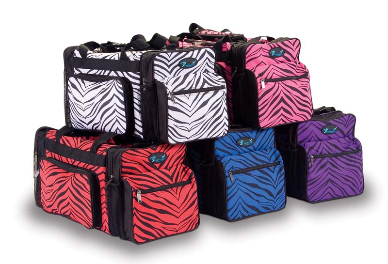 B200AP Zebra Print Multi-SportTravel Bag - Click Image to Close