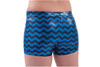 2700CM and 2800CM Chevron Metallic Boys Cut Brief