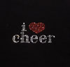 "LT100 ""I Love Cheer"" Heat Transfer"