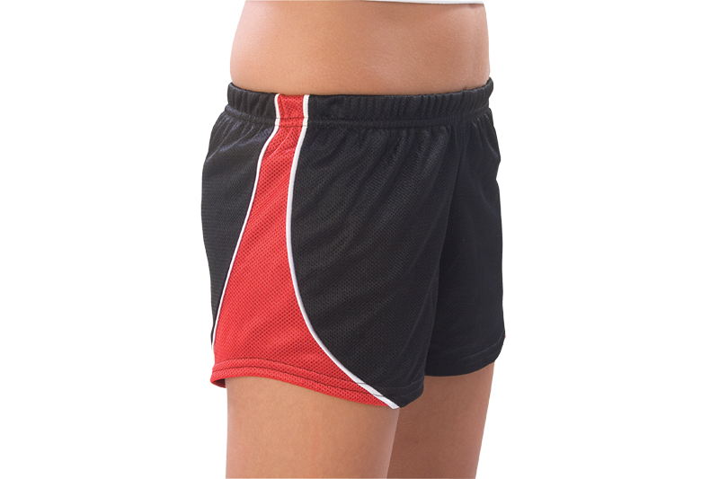 6300 and 6400 Pizzazz Fusion Mesh Short - Click Image to Close